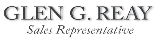 Glen G. Reay - Sales Representative